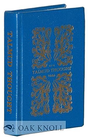 TALMUD THOUGHT: Pilchik, Eli E. (translator)
