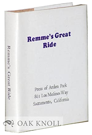 REMME'S GREAT RIDE