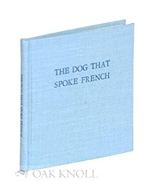 DOG THAT SPOKE FRENCH.|THE: Starrett, Vincent
