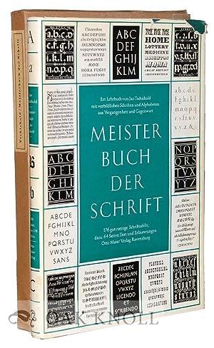 MEISTERBUCH DER SCHRIFT: Tschichold, Jan