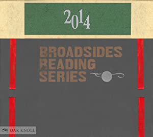 CENTER BROADSIDES 2014 READING SERIES