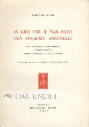 IN GIRO PER IL MAR EGEO CON VINCENZO CORONELLI: Armao, Ermanno