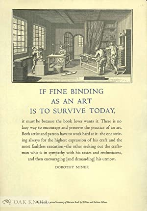 IF FINE BINDING AS AN ART IS TO SURVIVE TODAY