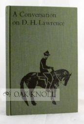 CONVERSATION ON D. H. LAWRENCE.|A