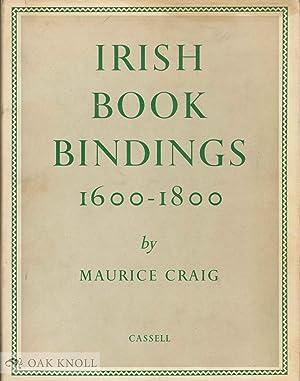 IRISH BOOKBINDINGS, 1600-1800: Craig, Maurice