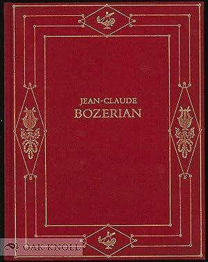 JEAN-CLAUDE BOZERIAN, UN MOMENT DE L'ORNEMENT DANS: Culot, Paul