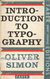 INTRODUCTION TO TYPOGRAPHY: Simon, Oliver