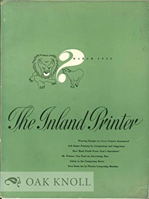 INLAND PRINTER.|THE