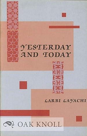 YESTERDAY AND TODAY: Layachi, Larbi