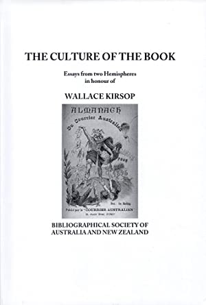 CULTURE OF THE BOOK, ESSAYS FROM TWO