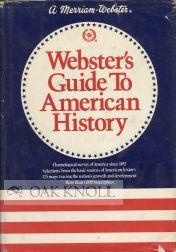 WEBSTER'S GUIDE TO AMERICAN HISTORY: Van Doren, Charles