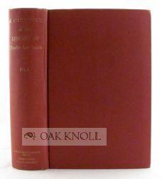 CATALOGUE OF THE LIBRARY OF CHARLES LEE SMITH: Folk, Edgar Estes