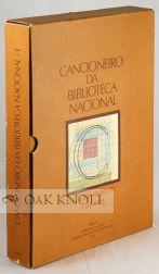 CANCIONEIRO DA BIBLIOTECA NACIONAL