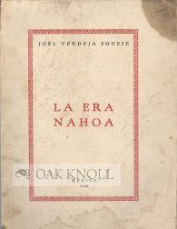 ERA NAHOA.|LA: Sousse, Joel Verdeja