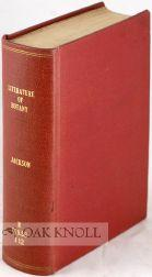 GUIDE TO THE LITERATURE OF BOTANY; BEING A CLASSIFIED SELECTION OF BOTANICAL WORKS, INCLUDING ...