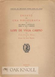 ENSAYO DE UNA BIBLIOGRAFÍA DE LAS OBRAS Y ARTÍCULOS SOBRE LA VIDA Y ESCRITOS DE LOPE ...
