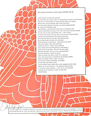 CENTER BROADSIDES 2010 READING SERIES