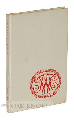 JAMES WATSON'S PREFACE TO THE HISTORY OF PRINTING, 1713: Munro, James (editor)