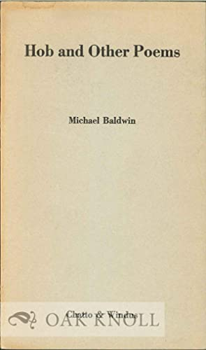 HOB AND OTHER POEMS: Baldwin, Michael