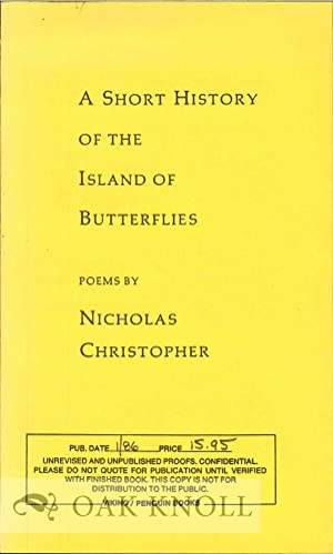 SHORT HISTORY OF THE ISLAND OF BUTTERFLIES.|A: Christopher, Nicholas