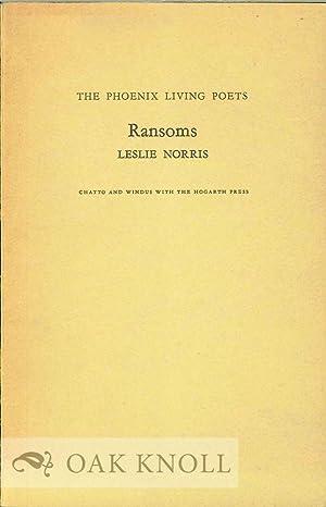 RANSOMS: Norris, Leslie
