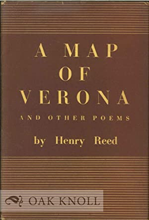 MAP OF VERONA AND OTHER POEMS.|A: Reed, Henry
