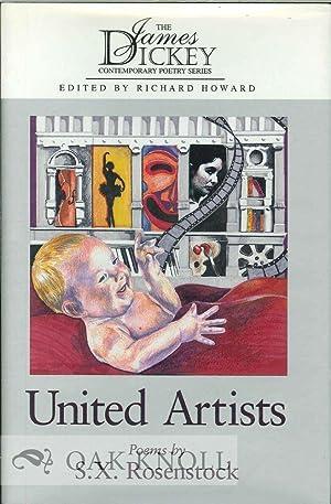 UNITED ARTISTS, POEMS: Rosenstock, S.X.