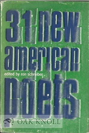 31 NEW AMERICAN POETS: Schreber, Ron (editor)