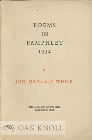 ROUT OF SAN ROMANO AND OTHER POEMS.|THE: White, Jon Manchip