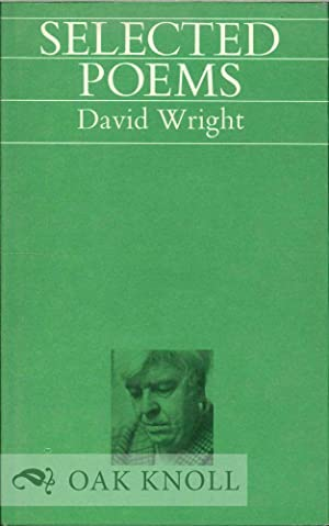 SELECTED POEMS: Wright, David