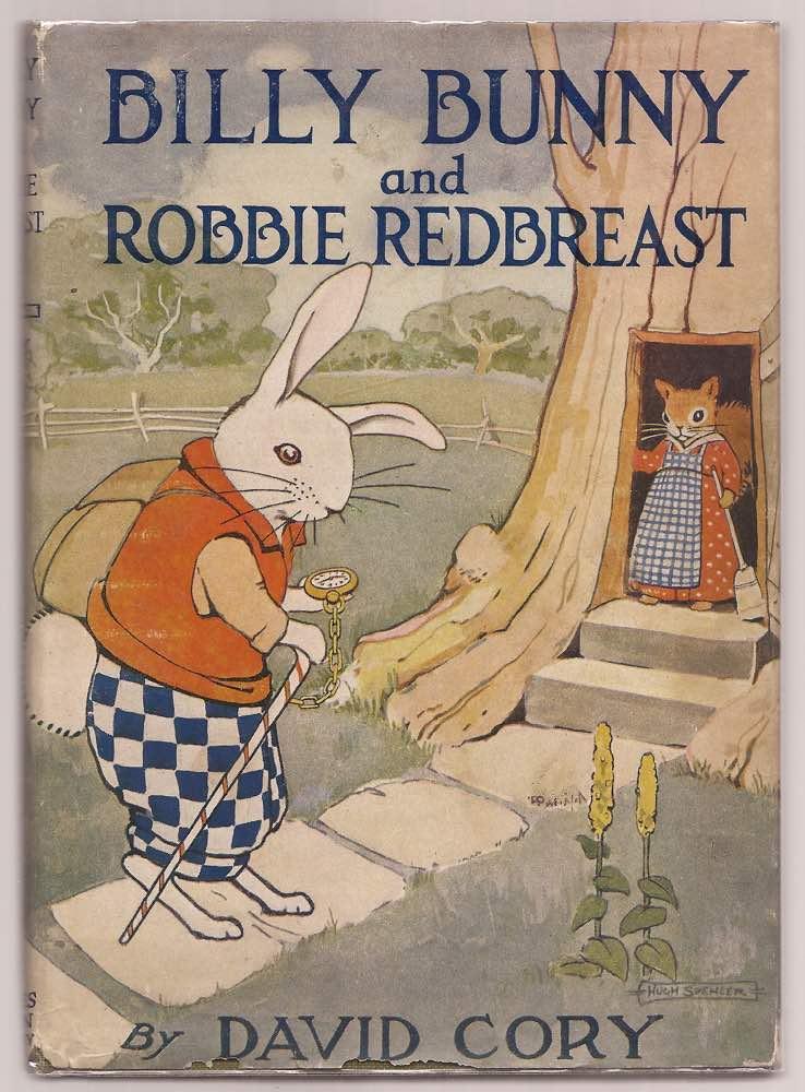 Billy Bunny and Robbie Redbreast Cory, David [Very Good] [Hardcover] (bi_16071844321) photo
