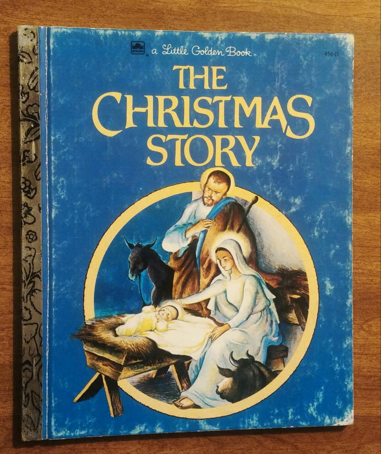 The Christmas Story Book.The Christmas Story Little Golden Book 456