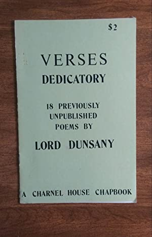 Verses Dedicatory: 18 Previously Unpublished Poems by: Carter, Lin (