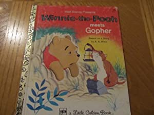 Winnie-the-Pooh Meets Gopher ( Walt Disney Presents): Milne, A. A.