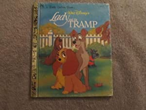 Lady and the Tramp ( Walt Disney's ) ( Little Golden Book # 105-72 ): Slater, Teddy ( Adapted ...