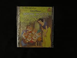 Snow White and the Seven Dwarfs ( Walt Disney's ) ( Little Golden Book # 103-58 ): Walt Disney...