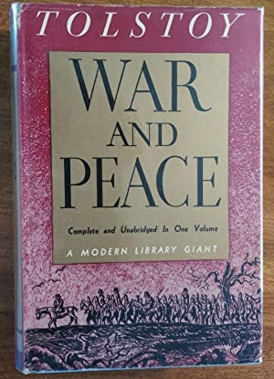War and Peace ( Modern Library Giant: Tolstoy, Leo (