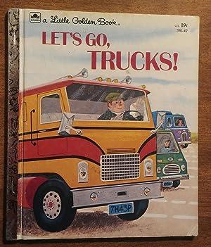 Let's Go Trucks ! ( Little Golden: Harrison, David L.