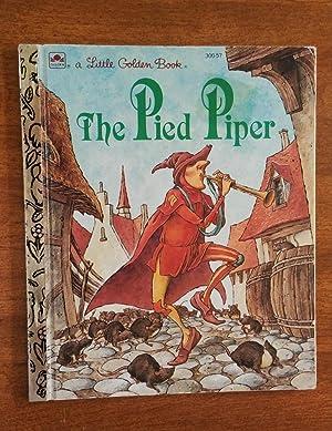 The Pied Piper ( Little Golden Book: Benjamin, Alan