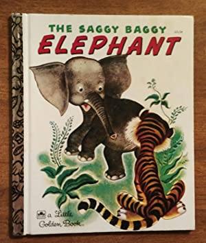 The Saggy Baggy Elephant ( Little Golden: Jackson, K. &