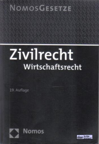 Zivilrecht - Wirtschaftsrecht