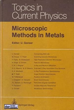 Microscopic Methods in Metals