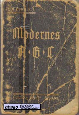Modernes ABC für das katholische Volk. Kurze: Fr. H. Brors