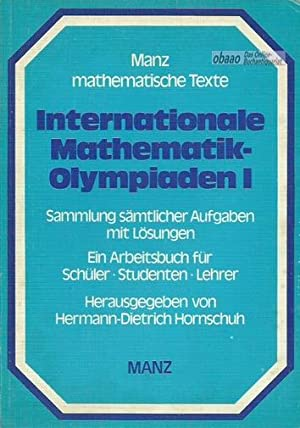 Internationale Mathematik-Olympiaden Band 1: 1959-1968