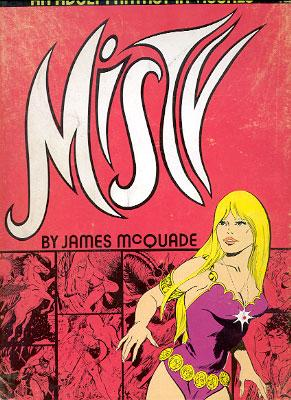 Misty: McQuade, James, Illustrated by James McQuade