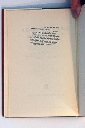 Albert Schweitzer, The Man and His Mind: Seaver, George