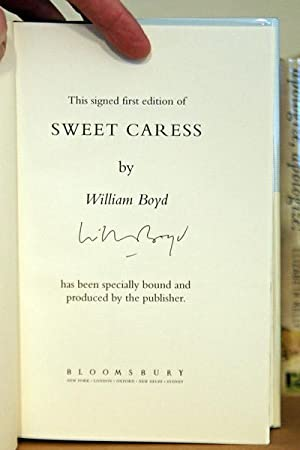 Sweet Caress, SIGNED BY AUTHOR