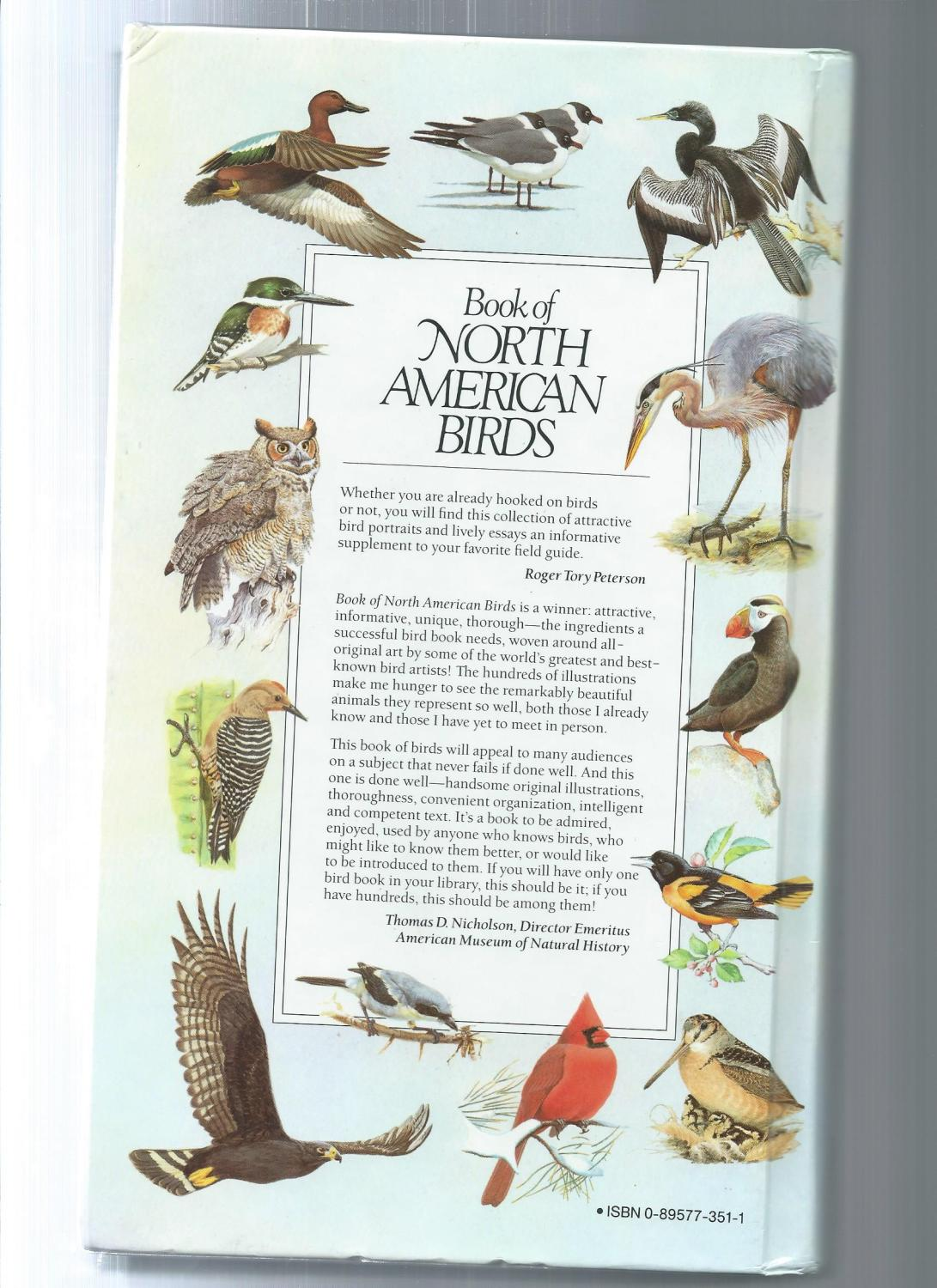 ... Book Of North American Birds: Reader's Digest