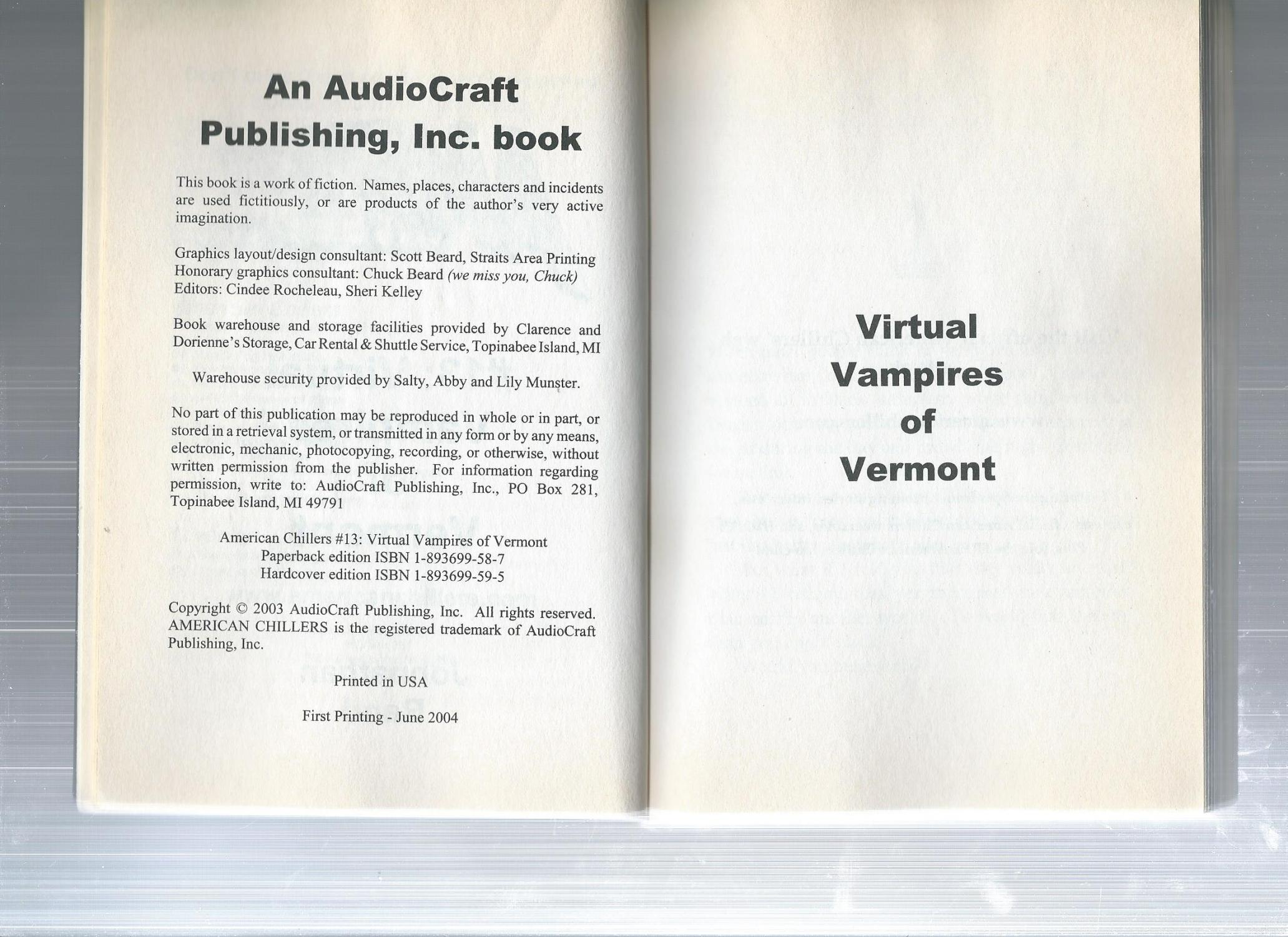 Books Set in Vermont