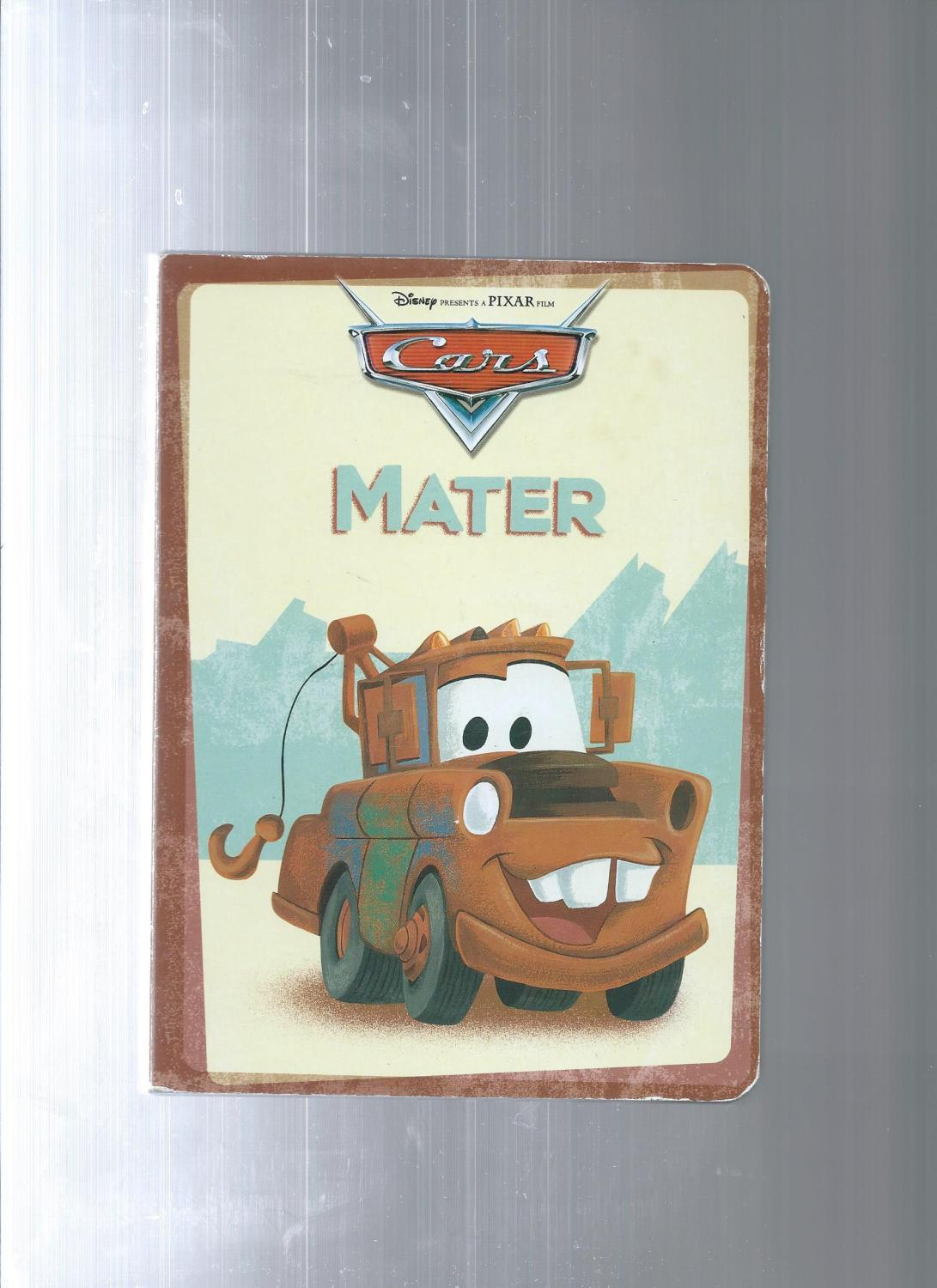 CARS board books Sally - Doc Hudson - Mater